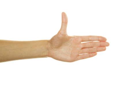 hand shake photo