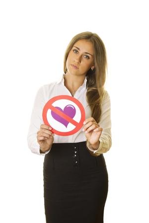 forbidden love: Love forbidden Stock Photo