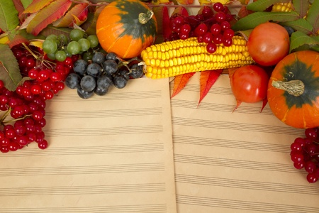 Music autumn photo