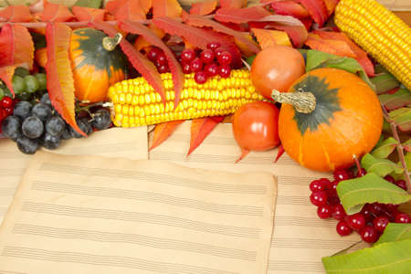 Music autumn photo
