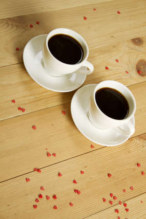 Two cups of coffee Stock Photo - 11885798