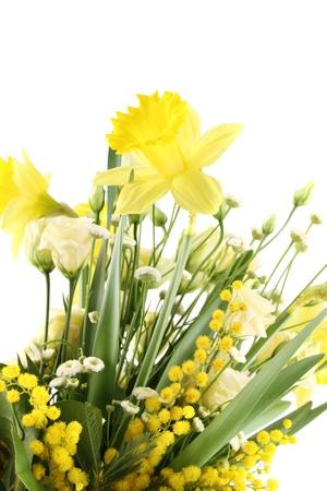 Beautiful bouquet of flowers photo