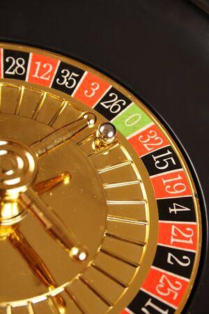 las vegas metropolitan area: Casino Roulette Stock Photo