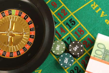 las vegas metropolitan area: Close up of casino roulette Cales. Background