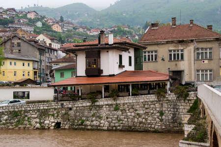 sarajevo: the old part of Sarajevo Stock Photo