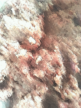 marrow: Illustration background texture of ground beef marrow Stock Photo