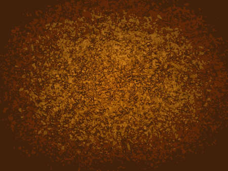 gnarled: Brown rectangular monochrome vector background with gnarled spots