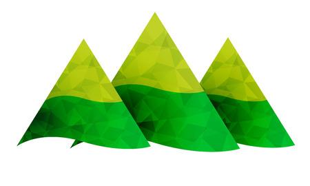 winter range: Mountains icon. High peak sign.