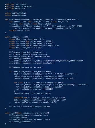 Programming and coding technology Vector illustration. Illustration