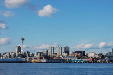 Space Needle and Skyline of Seattle, Washington