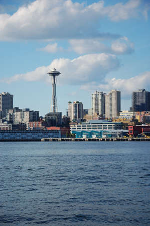 Space Needle and Skyline of Seattle, Washington photo