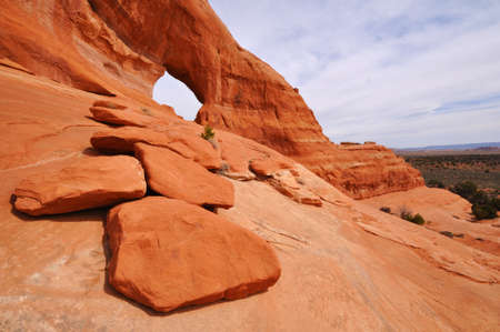 arches national park: Looking Glass Arch Near Moab Utah