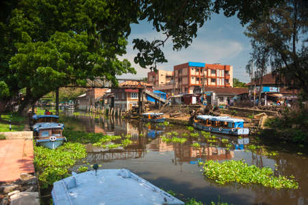 allepey: The canals of Kerala in Southern India Editorial