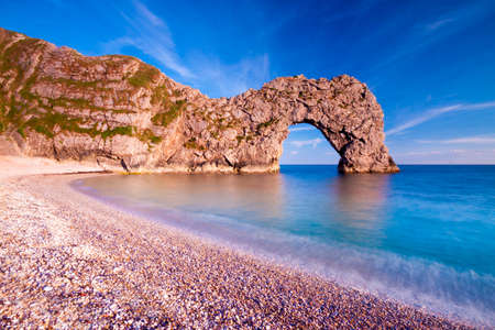 Geologically important and stunningly beautiful Dorset coastline Stok Fotoğraf - 34217869