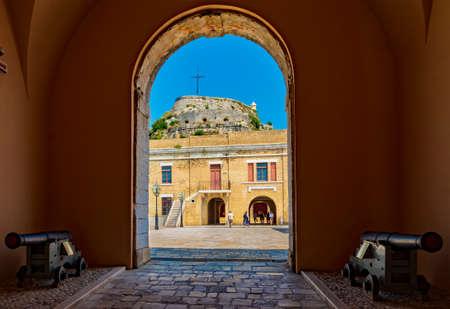 St. George's Church in the Old Fortress in Kerkyra, Corfu, Greece