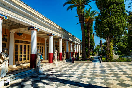 Historic palace of Achilleion in Corfu Town