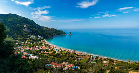 Golden sands, azure seas and deep blue skies all feature as highlights of Agios Gordios village