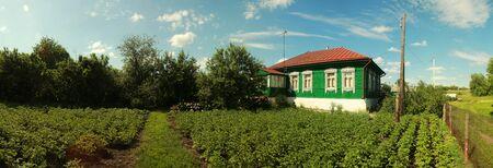 Landhaus Standard-Bild