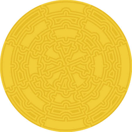 Maze Circle collected from puzzles