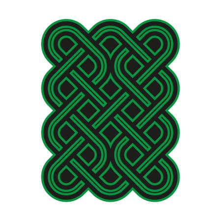 keltische muster: Celtic Muster. Element of Celtic oder irischen Verzierung