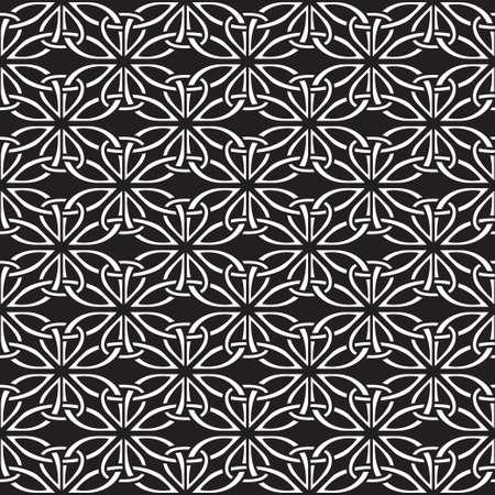 keltische muster: Seamless celtic pattern Illustration