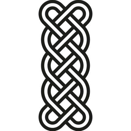celtic: Celtic pattern. Element of Celtic or Irish ornament