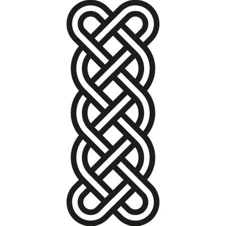 motif celtique. Element de Celtic ou d'ornement irlandais Vecteurs