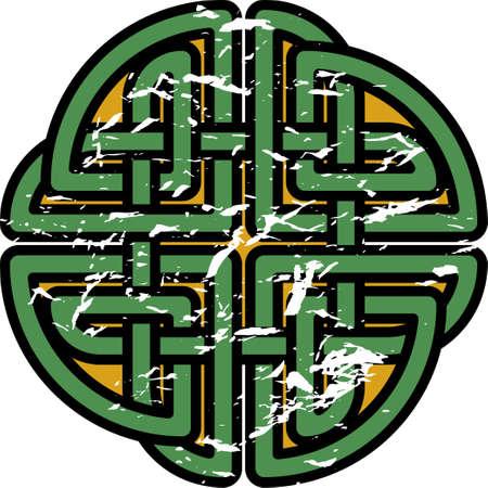 Celtic pattern. Border or frame for Scandinavian or Celtic ornament