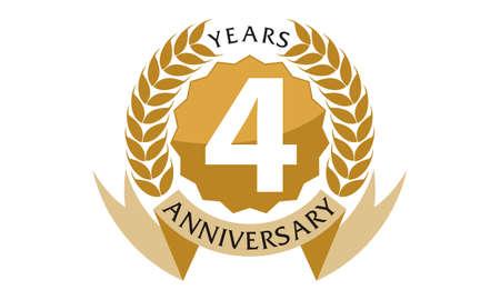 4 jaar lintjubileum