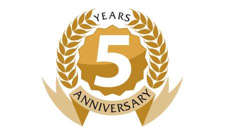 5 jaar lintjubileum
