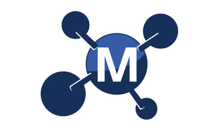 Synergy Logo Initial M
