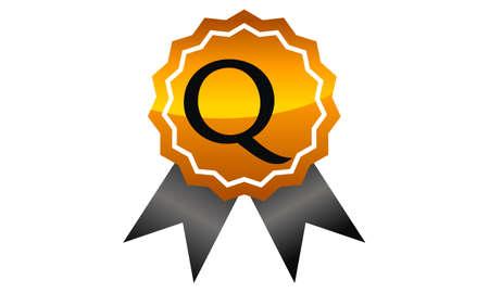 Logo Quality Letter Q