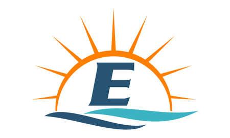 sun: Wave Sunset Initial E