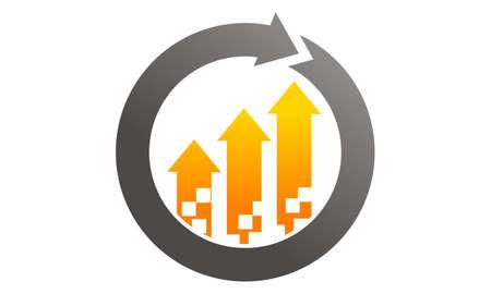 Business  Management Process Illustration