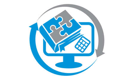 Book Computer Calculator Accountant Center