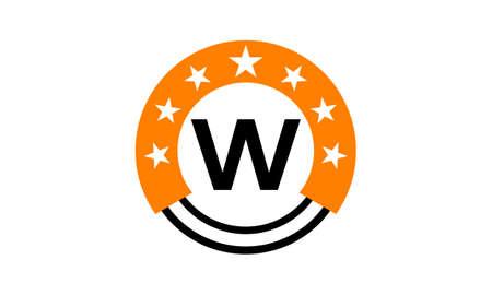 星連合初期 W  イラスト・ベクター素材