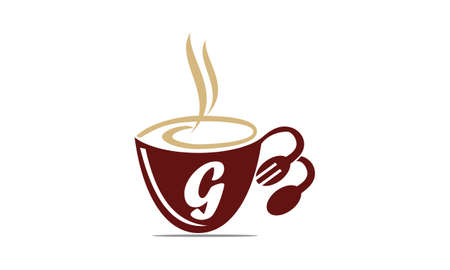 Coffee Cup Restaurant Letter G