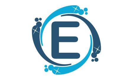 Water Clean Service Abbreviation Letter E