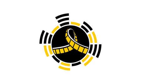 An Audio Movie Studio Illustration