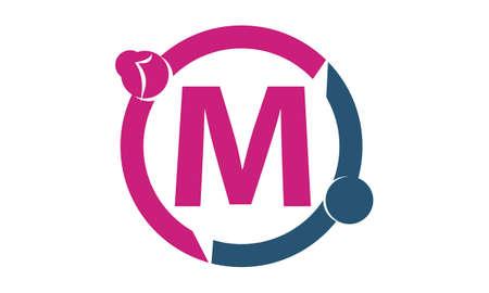 Teamwork Sharing Dating Initial M
