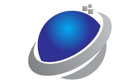 Technology Motion Synergy Vettoriali