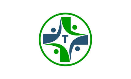 Medical Group Initial T Illustration