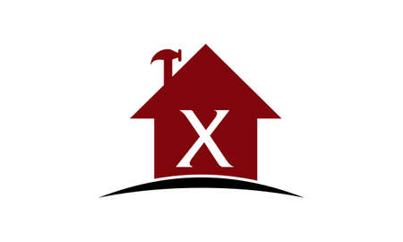 Real Estate Solution Initial X Illustration