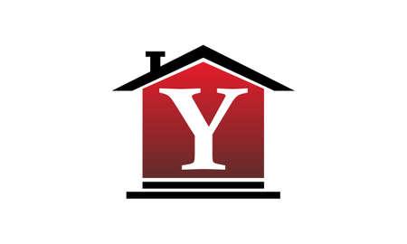 Real Estate Initial Y Illustration