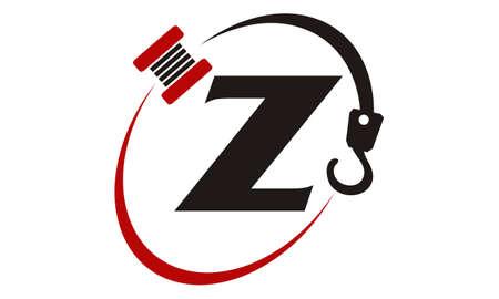 Crane Hook Towing Letter Z