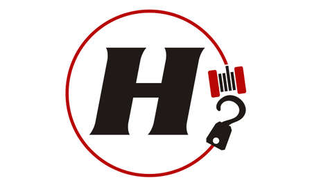 Crane Hook Towing Letter H