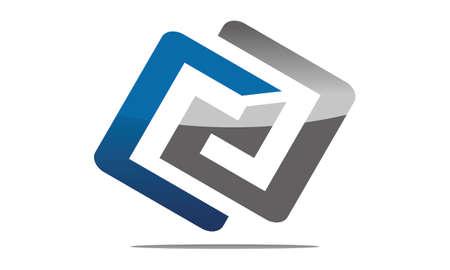 Modern Logo Solution Letter C D