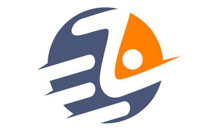 Letter E Z Logo