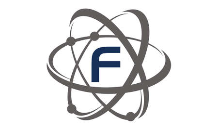 Atom Initial F Illustration