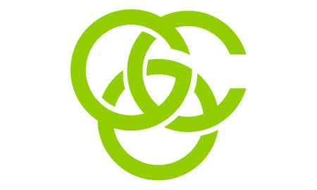 Modern Logo Solution Letter G C O